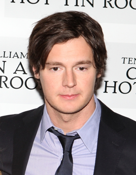 Benjamin Walker at CAT ON A HOT TIN ROOF'S Benjamin Walker, Scarlett Johansson and More Meet the Press