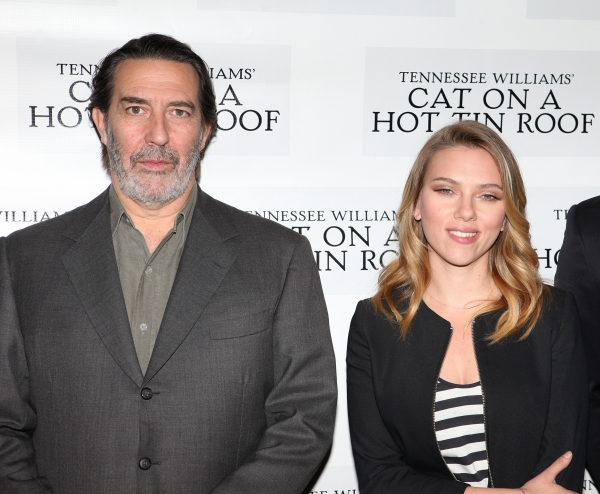 Ciaran Hinds & Scarlett Johansson at CAT ON A HOT TIN ROOF'S Benjamin Walker, Scarlett Johansson and More Meet the Press