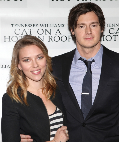 Photo Coverage: CAT ON A HOT TIN ROOF'S Benjamin Walker, Scarlett Johansson and More Meet the Press