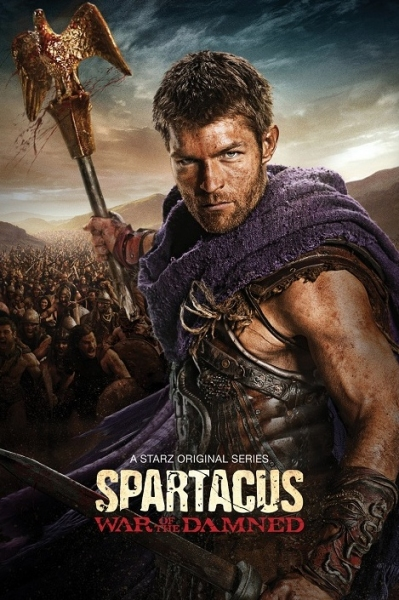 Photo Flash: Key Art for Starz's SPARTACUS: WAR OF THE DAMNED