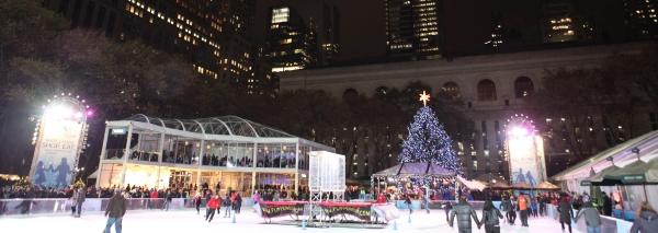 Photo Coverage: Bryant Park's Citi Pond Holiday Tree Lighting Ceremony