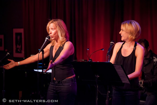 Amanda Green and Jenn Colella at Phish's Trey Anastasio and Amanda Green Preview HANDS ON A HARDBODY at Birdland