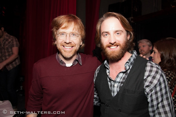 Trey Anastasio and Billy Rogan