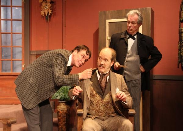 Patrick Burke, Bert Emmett and Chris Winfield Photo