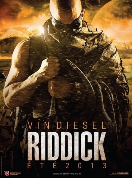 Photo Flash: International Poster for Vin Diesel's RIDDICK