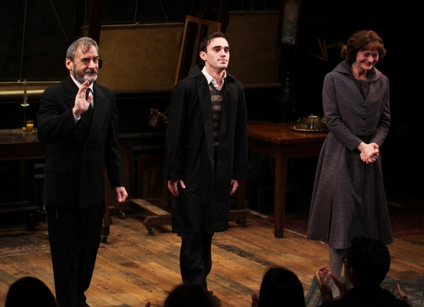 Photo Coverage: MY NAME IS ASHER LEV's Opening Night Curtain Call!