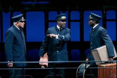 Photo Flash: First Look at E. Faye Butler, Larry Marshall and More in PULLMAN PORTER BLUES