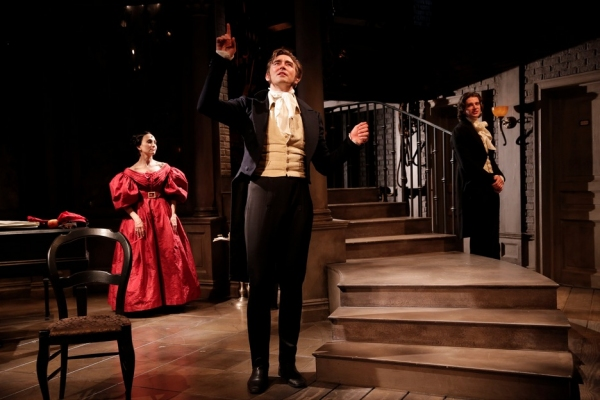 Photo Flash: First Look at Lee Pace, Bebe Neuwirth and More in MTC's GOLDEN AGE