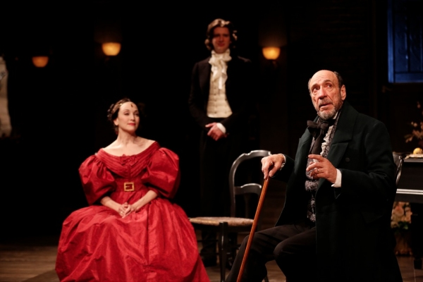 Bebe Neuwirth, Will Rogers and F. Murray Abraham as 'Gioacchino Rossini'