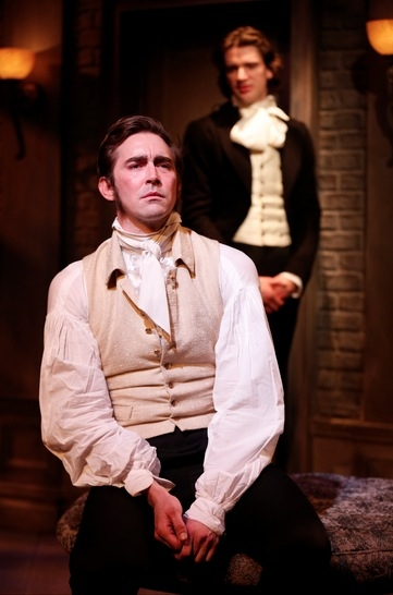 Lee Pace and Will Rogers at First Look at Lee Pace, Bebe Neuwirth and More in MTC's GOLDEN AGE
