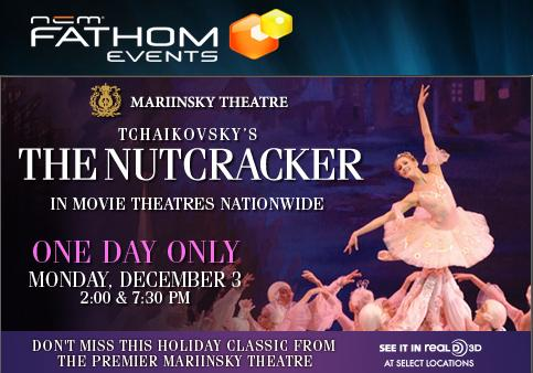 FLASH SPECIAL: Tchaikovsky's THE NUTCRACKER In 3D, In Theaters & In History