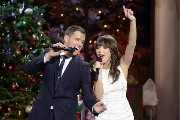 Photo Flash: First Look at Michael Buble's Holiday Special on NBC, Airing 12/10