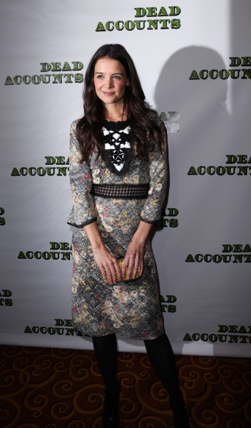 Katie Holmes at DEAD ACCOUNTS Opening Night Party