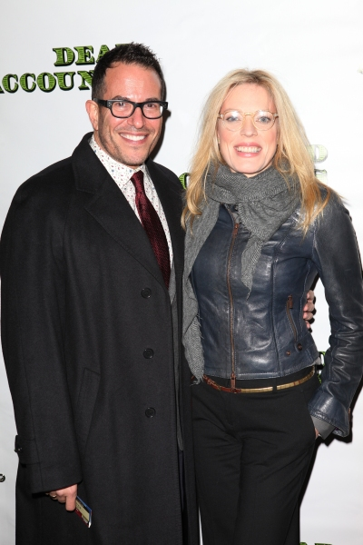 Michael Mayer & Sherrie Rene Scott at DEAD ACCOUNTS - Red Carpet Theatre Arrivals