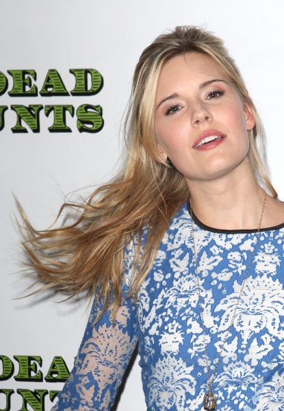 Maggie Grace at DEAD ACCOUNTS - Red Carpet Theatre Arrivals