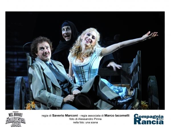 Giampiero Ingrassia, Mauro Simone e Valentina Gullace Photo