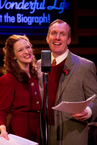 Photo Flash: First Look at American Blues Theater's IT'S A WONDERFUL LIFE: LIVE AT THE BIOGRAPH!