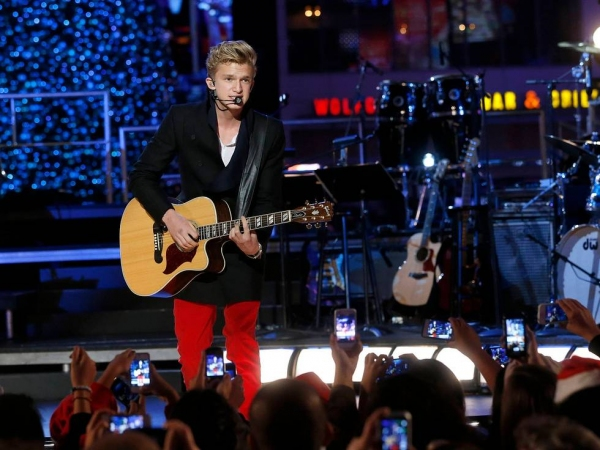 Cody Simpson at First Look at Brightman, Manilow & More in L.A. LIVE's HOLIDAY TREE LIGHTING
