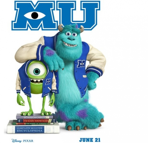 Photo Flash: First Look - New Posters for Disney/Pixar's MONSTER'S UNIVERSITY