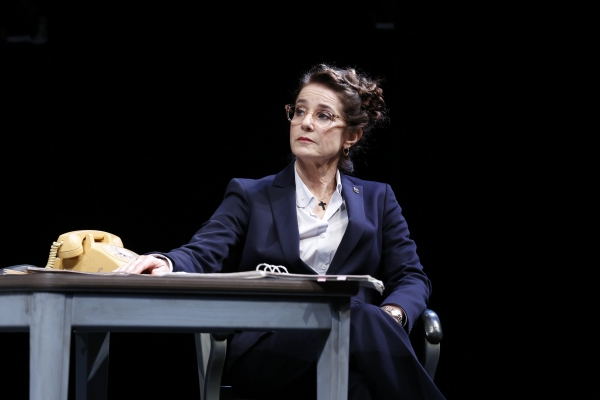 Photo Flash: First Look at Patti LuPone and Debra Winger in David Mamet's THE ANARCHIST!