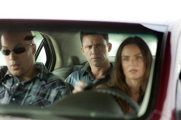 Coby Bell, Jeffrey Donovan, Gabrielle Anwar  Photo