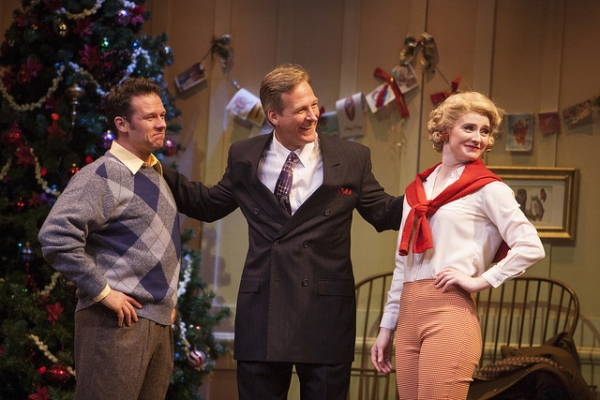 Photo Flash: First Look at Nicolas Dromard, Tom Galantich and More in IRVING BERLIN'S WHITE CHRISTMAS at The Denver Center