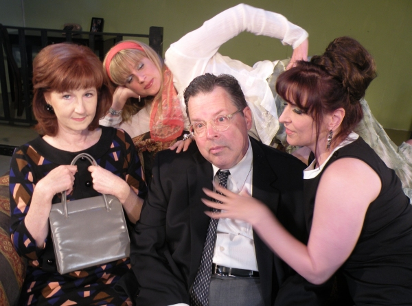 (Vicky McCormick) Jeanette, (Kelly Walker) Bobbi, (Bob Maddox) Barney & (Melissa J. M Photo