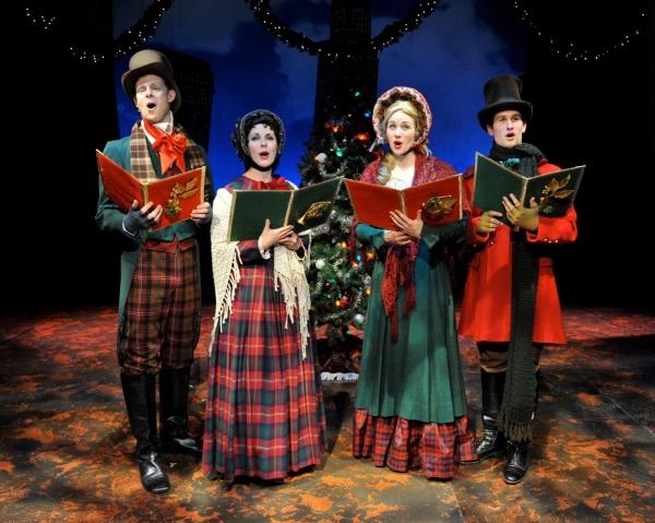 Carolers (Bjorn Bolinder, Marguerite Willbanks, Jessica Jaros, James Shackelford) Photo