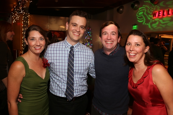Photo Flash: Opening Night at Second City's A CHRISTMAS CAROL: TWIST YOUR DICKENS!