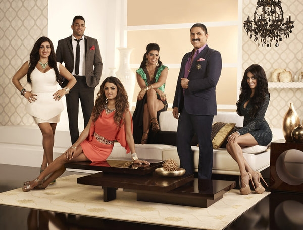 Mercedes 'MJ' Javid, Mike Shouhed, Golnesa 'GG' Gharachedaghi, Asa Soltan Rahmati, Reza Farahan, Lilly Ghalichi