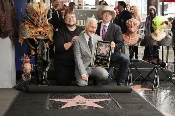 Guillermo del Toro, Rick Baker, Barry Sonnenfeld