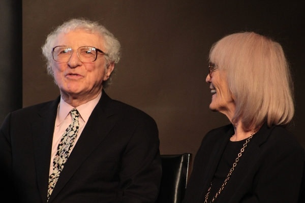 Sheldon Harnick, Margery Gray Harnick at Sheldon & Margery Harnick Unveil OUTDOOR MUSEUM at Drama Book Shop