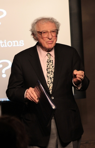 Sheldon Harnick at Sheldon & Margery Harnick Unveil OUTDOOR MUSEUM at Drama Book Shop