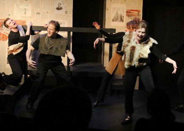Photo Flash: First Look at Un-Scripted Theater's HISTORY: THE MUSICAL