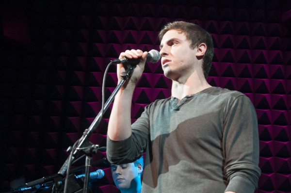 Derek Klena at Broadway Stars Belt It Out in RAZIA'S SHADOW Stage Debut at Joe's Pub