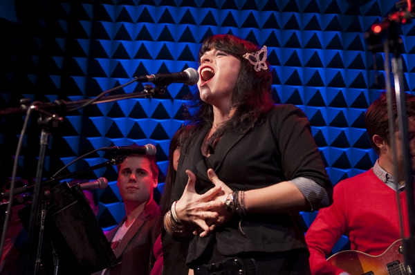 Photo Flash: Broadway Stars Belt It Out in RAZIA'S SHADOW Stage Debut at Joe's Pub