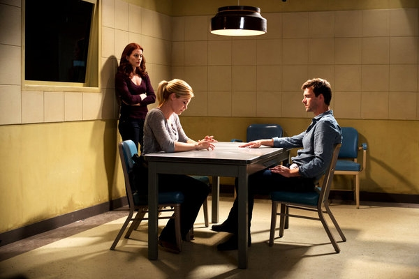 Bree Williamson, Emily Rose, Lucas Bryant Photo