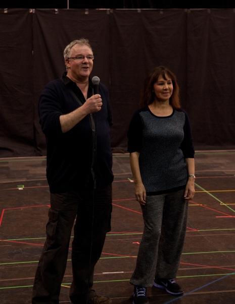 Jeremy Sams and Arlene Phillips Photo