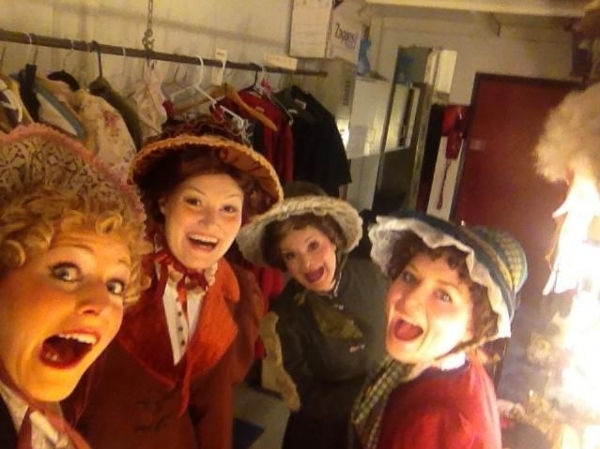 Photo Flash: Saturday Intermission Pics, Dec 1, Part 2 - Alan Menken Visits NEWSIES and More!