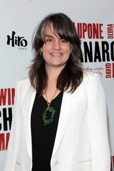 Pam MacKinnon at THE ANARCHIST on Broadway - Opening Night Red Carpet!