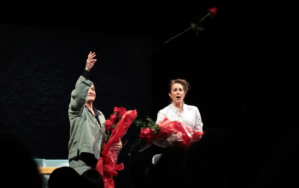 Photo Coverage: THE ANARCHIST on Broadway - Opening Night Curtain Call!