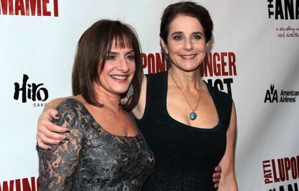 Patti LuPone, Debra Winger at THE ANARCHIST on Broadway - Opening Night Party!
