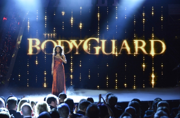 Photo Coverage: Heather Headley From THE BODYGUARD At The Royal Variety Performance!