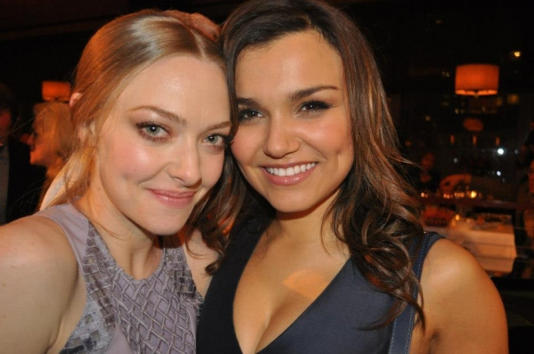Amanda Seyfried, Samantha Barks at LES MISERABLES Film Cast Throw Dinner Party in NYC