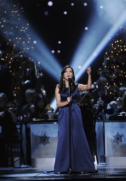 Martina McBride at First Look - McBride, Urban & More on ABC's CMA COUNTRY CHRISTMAS