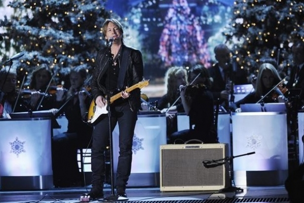 Keith Urban at First Look - McBride, Urban & More on ABC's CMA COUNTRY CHRISTMAS