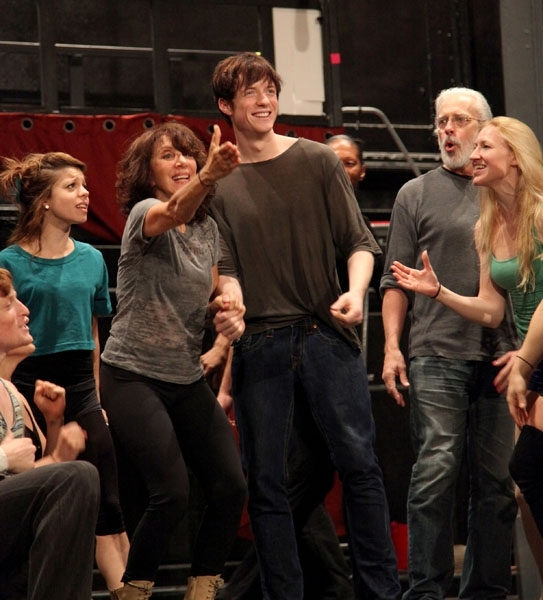 Philip Rosenberg, Lolita Costet, Andrea Martin, Matthew James Thomas, Terrence Mann, and Molly Tynes