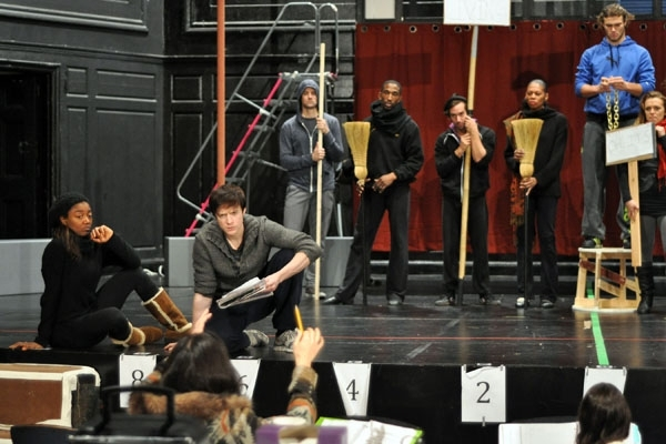 Photo Flash: First Look at Patina Miller, Matthew James Thomas and More in Rehearsals for A.R.T.'s PIPPIN