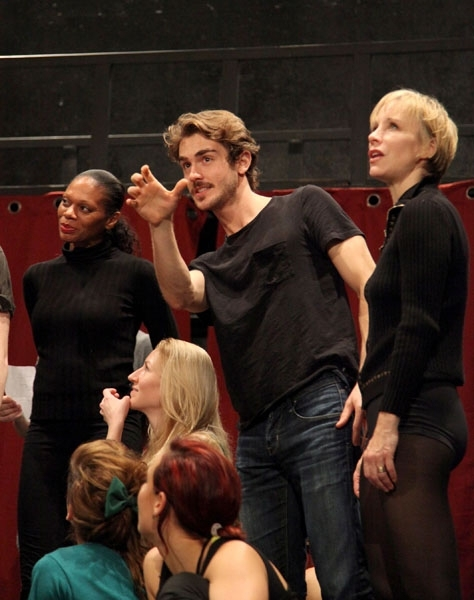 Stephanie Pope, Eric Altemus and Charlotte d'Amboise