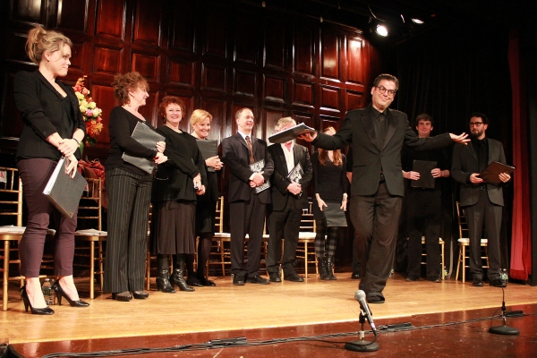 Michael Musto and PYGMALION Cast at Inside Project Shaw's PYGMALION